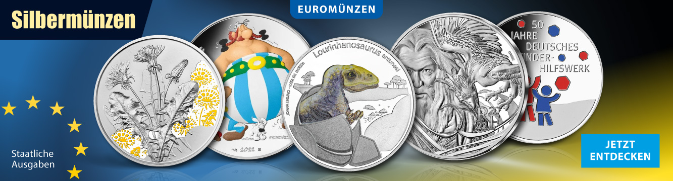 Euro Silbermünzen
