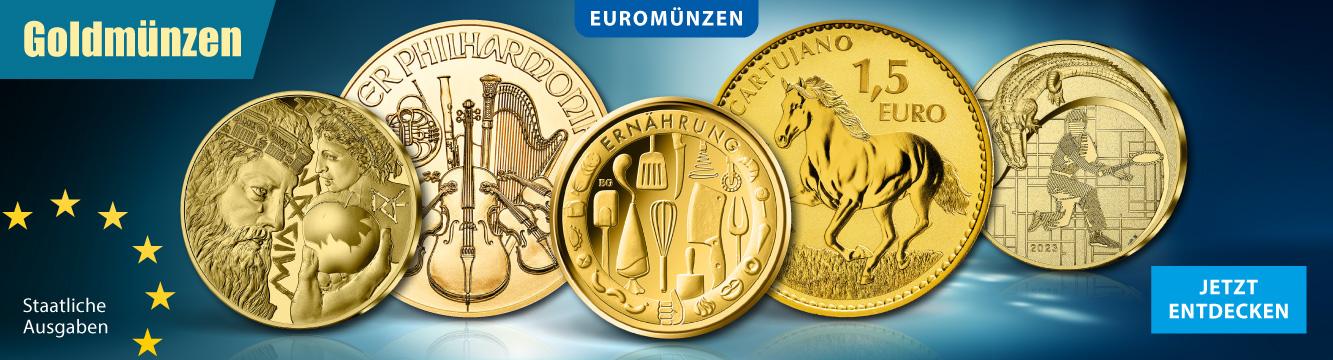 Euro Goldmünzen