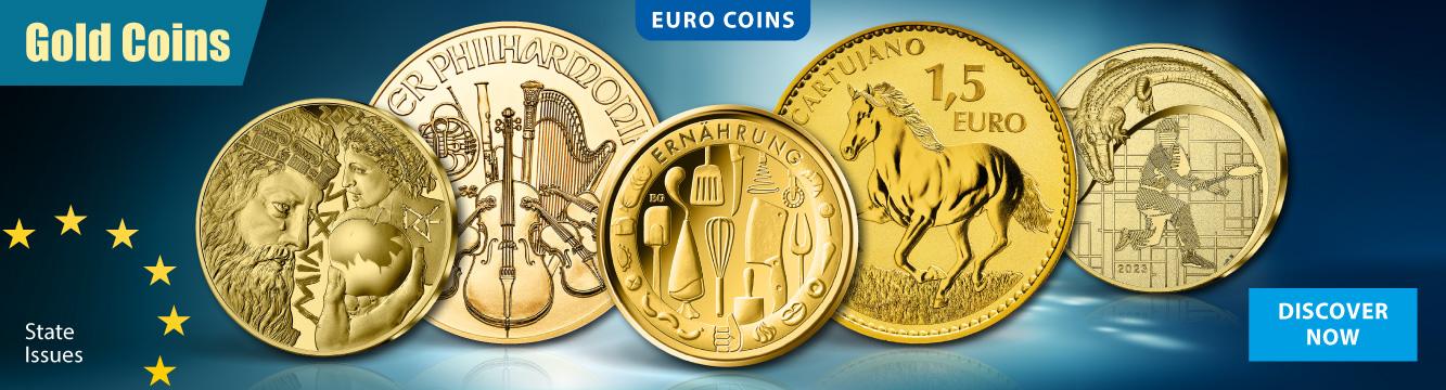 Euro Gold Coins Collection Emk