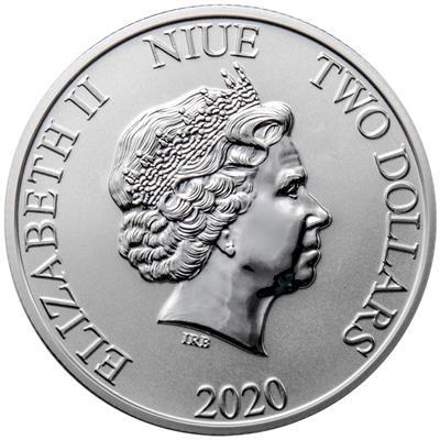 1 Ounce Pure Silver .999 Coin! 2020 Niue Disney Mickey /& Pluto