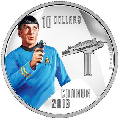 50 Jahre Star Trek Münzen Erhalten Sie Auf Emkcom