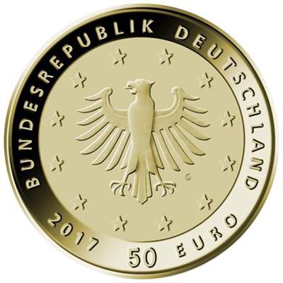 Lutherrose 500 Jahre Reformation 50 Euro Emkcom