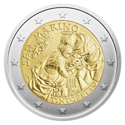San Marino 2 Euro Münzen Emkcom