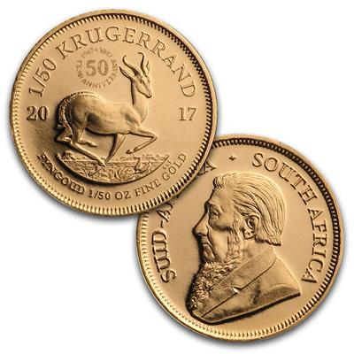 In Capsule 2018 1//50 oz South Africa Gold Krugerrand Proof