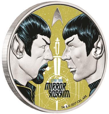 Star Trek Mirror Mirror 1 Oz Silber Münze Emkcom