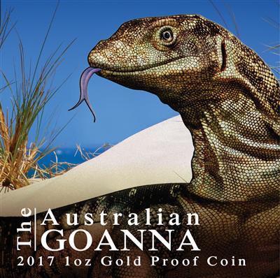 Australian Goanna - 1 Oz | EMK com